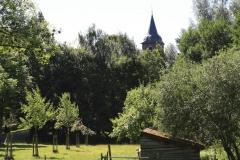 Nuth-139-Vergezicht-met-Schuurtje-en-Sint-Bavokerk