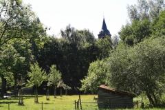 Nuth-140-Vergezicht-met-Schuurtje-en-Sint-Bavokerk