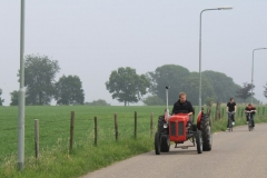 Spaubeek-051-Tractor-en-fietsers